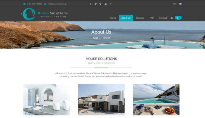 House Solutions   Υπηρεσίες Ιδιοκτησίας στη Μύκονο