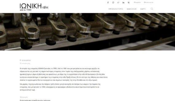 Ιωνική ΑΒΕΕ | Ιστοσελίδα - 3