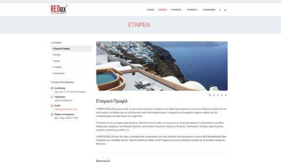 Redox Hellas | Ιστοσελίδα 3